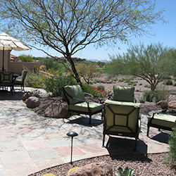 Scottsdale Exterior Living Room Interior Design